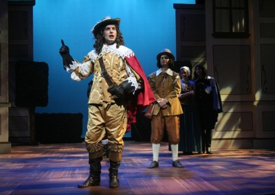 <em>The Liar</em> by David Ives, adapted from the comedy by Pierre Corneille, directed by Peter Zazzali - Texas Shakespeare Festival; Set and Poperties Design: Jesse Dreikosen; Costume Design: Emily Waecker; Lighting Design: Tony Galaska