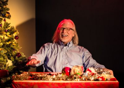 Erik Abbott in <em>Dear Santa</em> by Erik Abbott, directed by Peter Zazzali - Actors Repertory Theatre Luxembourg