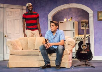 <em>The Legend of Georgia McBride</em> by Matthew Lopez, directed by Peter Zazzali - Kansas Repertory Theatre; Set Design: Dennis Christilles; Costume Design: Kelly Vogel; Lighting Design: Ann Sitzman/Rana Esfandiar